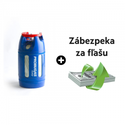 10 kg plyn Propán aj so zábezpekou za kompozit fľašu