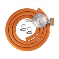 Set (2 m hadica + 2 spony + regulátor tlaku)