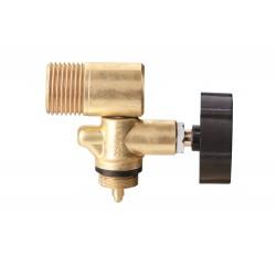 MEVA Jednocestný ventil PB W 21,8 L s výstupom do boku