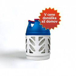 7,5 kg plynová fľaša Propán EASY kompozitná - V cene donáška až k Vám domov